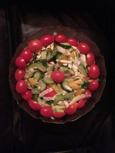my kitchen/fruite salad