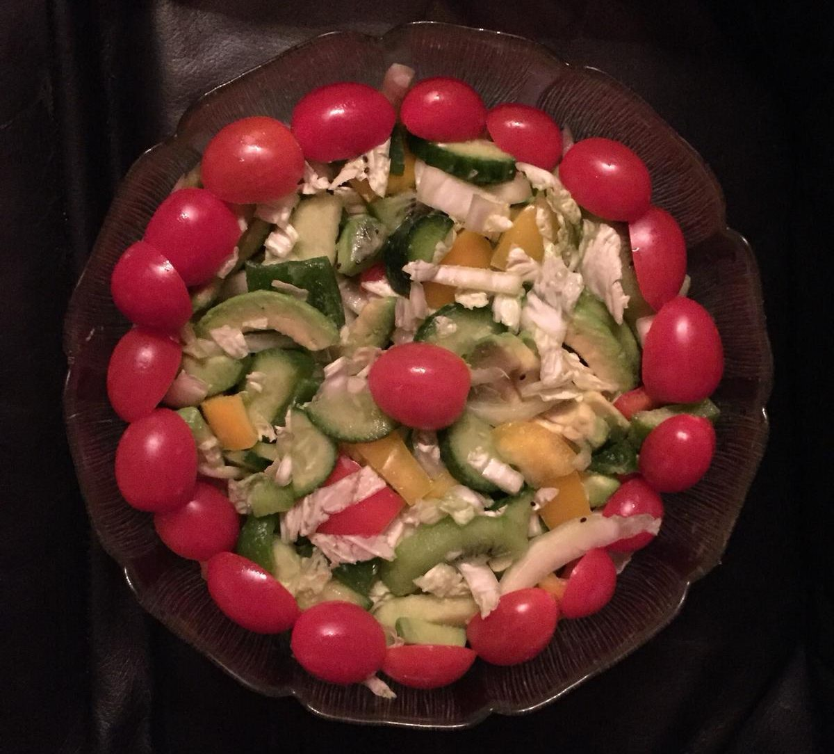 my kitchen/fruite salad